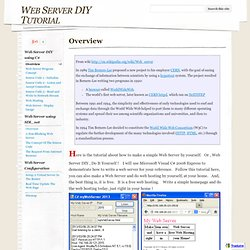 Web Server DIY