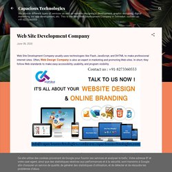 Web Site Development Company
