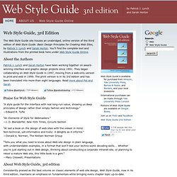 Online - Web Style Guide, 3rd Ed.