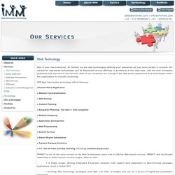 Web Technology in Delhi – IMMWIT