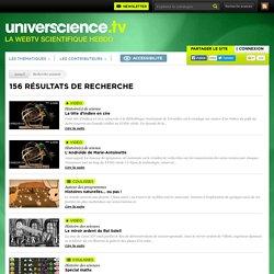 Web TV universcience.tv -