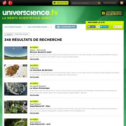 Web TV universcience.tv vidéos accessibles