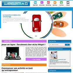 Web2Mag magazine high-tech