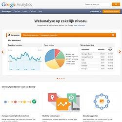 Officiële website van Google Analytics - Webanalyse en rapportage – Google Analytics
