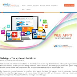WebApps – The Myth and the Mirror