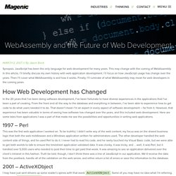 WebAssembly and the Future of Web Development