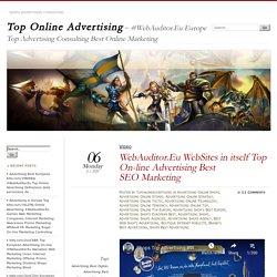 WebAuditor.Eu WebSites in itself Top On-line Advertising Best SEO Marketing