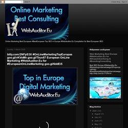 bitly.com/2NFpS3X #OnLineMarketingTopEuropas goo.gl/vKVoMh goo.gl/Tbuv87 European OnLine Marketing #WebAuditor.Eu for #EuropeanOnLineMarketing goo.gl/6ddEi5