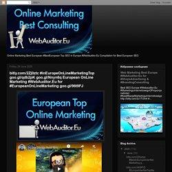 bitly.com/2Zj0ztc #inEuropeOnLineMarketingTop goo.gl/qdb2pK goo.gl/Nnyn6q European OnLine Marketing #WebAuditor.Eu for #EuropeanOnLineMarketing goo.gl/96t9FJ