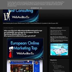 bitly.com/2Zp1pVn #BestInterNetMarketinginEurope goo.gl/QbkBfx goo.gl/ngpC3p European OnLine Marketing #WebAuditor.Eu for #EuropeanOnLineMarketing goo.gl/czKLBT