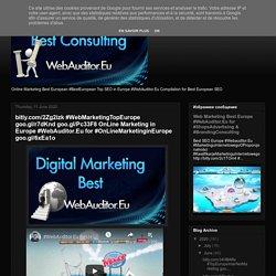 bitly.com/2Zg2izk #WebMarketingTopEurope goo.gl/r7dKnd goo.gl/Pc33F8 OnLine Marketing in Europe #WebAuditor.Eu for #OnLineMarketinginEurope goo.gl/6xEa1o