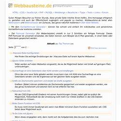 Generatoren - Homepage-Total.de - Webseiten erstellen, optimieren und aufpeppen