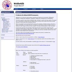 WebbotLib