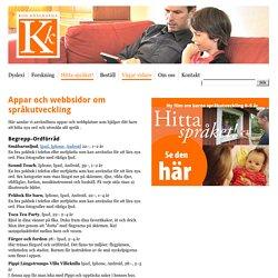 Appar och webbsidor om språkutveckling - Kod-Knäckarna