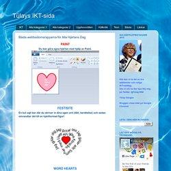 Bästa webbsidorna/apparna för Alla Hjärtans Dag