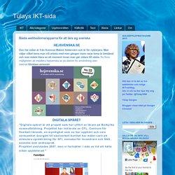 Bästa webbsidorna/apparna för att lära sig svenska
