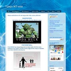 Bästa webbsidorna för att skapa eller hitta vackra affischer