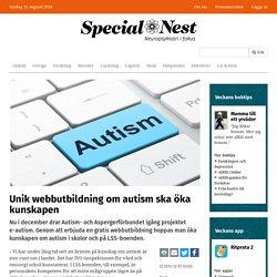 Unik webbutbildning om autism ska öka kunskapen