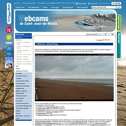 Webcam vue panoramique sur la grande plage