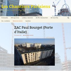 REGION PARIS : Webcams de chantiers