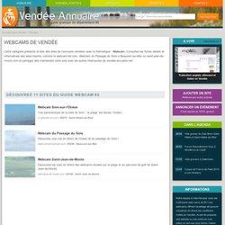 Webcams de Vendée : webcam des plages et villes de Vendée