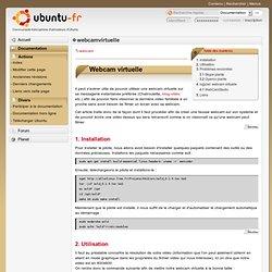 webcamvirtuelle