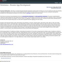 Webchoice - Premier App Development