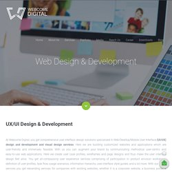 Webcome Digital - Website Design & Development Services Company in India
