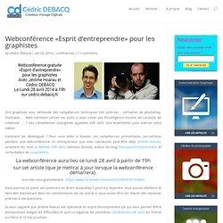 Webconférence «Esprit d'entreprendre» pour les graphistes