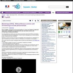 [Numérique-2016] : Webconférence comme outil d'e-learning et d'aide personnalisée