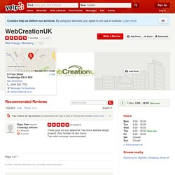 WebCreationUK - Web Design - Trowbridge, Wiltshire - Reviews - Photos - Yelp