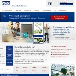 Webdesign & Development - SAE Berlin