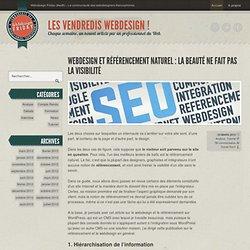 Webdesign et référencement naturel