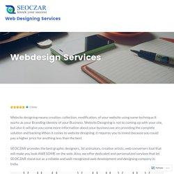 Webdesign Services – Seoczar Web Designing Services