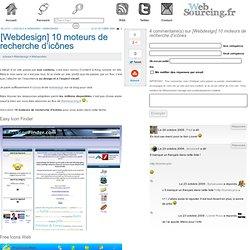 [Webdesign] 10 moteurs de recherche d'icônes - Websourcing.fr