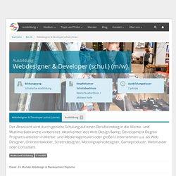 Webdesigner & Developer - Ausbildung
