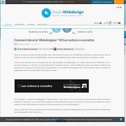 Comment devenir Webdesigner ? #3 Les notions à connaître - Blog Du Webdesign Magazine