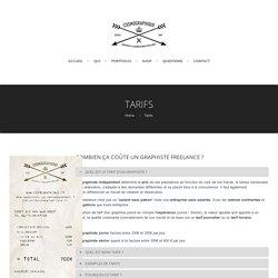Tarifs Graphiste Freelance / Webdesigner - Cosmographique - Lille / Fretin