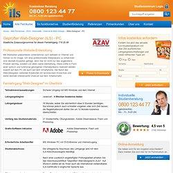 Fernlehrgang Geprüfter Web-Designer (ILS)