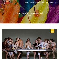 L' Art inspire la publicité - Graphiste Webdesigner Montpellier