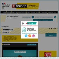 webdesigner - Onisep