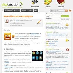 Article: Icônes libres pour webdesigners