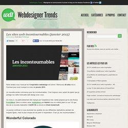 Les sites web incontournables (janvier 2015)