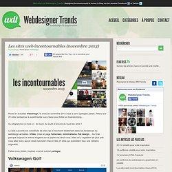 Les sites web incontournables (novembre 2013)