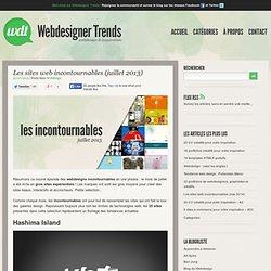 Les sites web incontournables (juillet 2013)