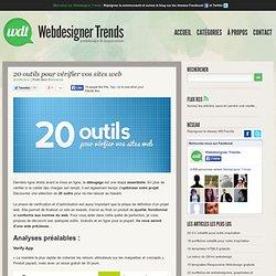20 outils pour vérifier vos sites web