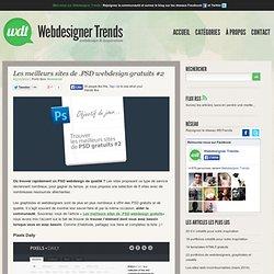 Les meilleurs sites de .PSD webdesign gratuits #2