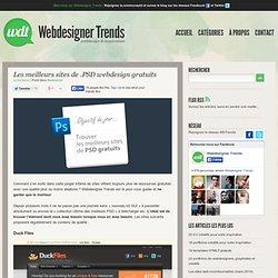 Les meilleurs sites de PSD webdesign gratuits