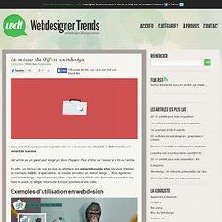 Le retour du Gif en webdesign