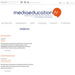 webdoc Archives - mediaeducation.fr